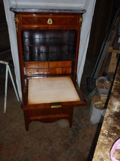 L 39 atelier des mara chers - Secretaire meuble ancien ...